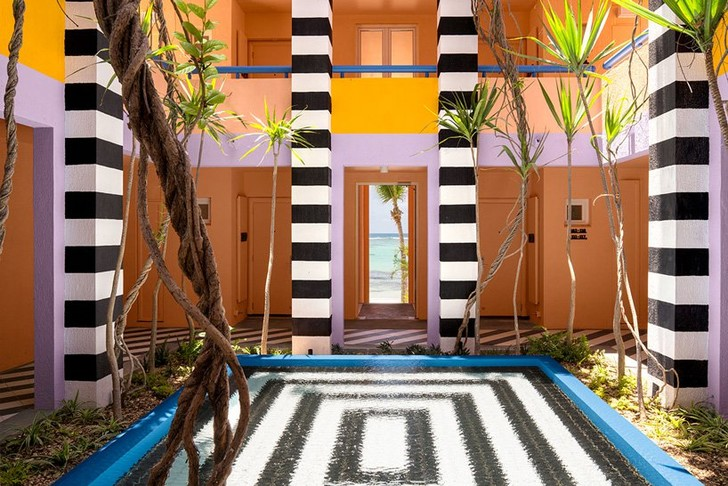 Графичный бутик-отель на Маврикии (фото 0)