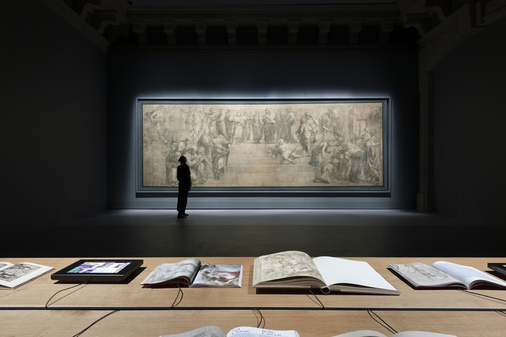 Картон Рафаэля в Амброзианской библиотеке Милана (фото 0)