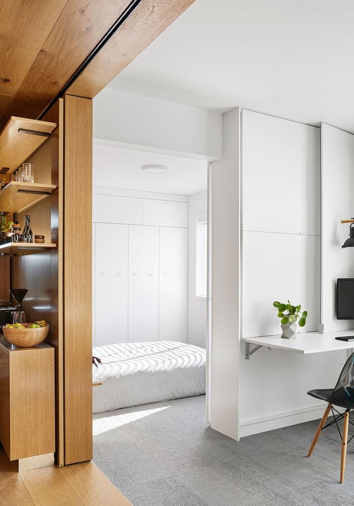 Минималистичная квартира 35 м² в Мельбурне (фото 12)