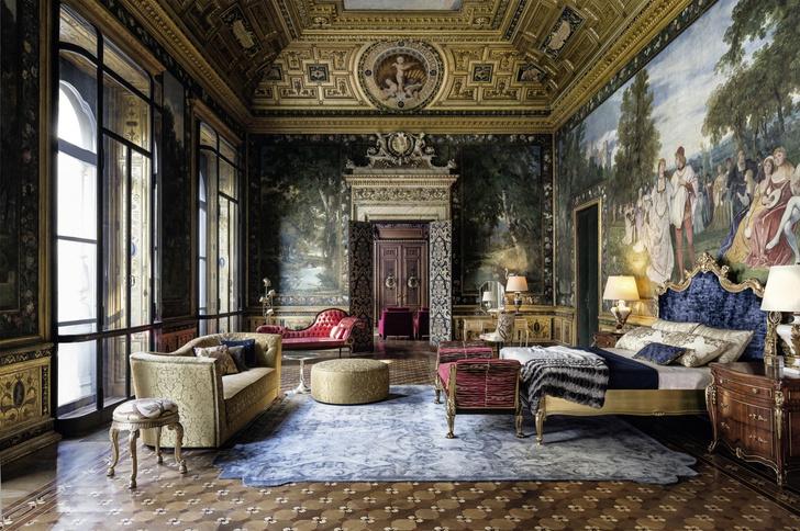 Нюансы  классики: интерьеры со всего света от Angelo Cappellini (фото 0)
