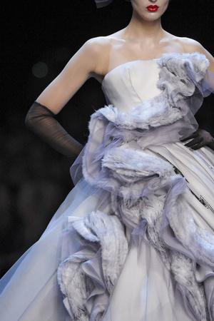 Показ Christian Dior коллекции сезона Весна-лето 2011 года haute couture - www.elle.ru - Подиум - фото 215451