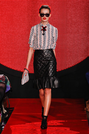 Показы мод Holly Fulton Осень-зима 2013-2014 | Подиум на ELLE - Подиум - фото 775