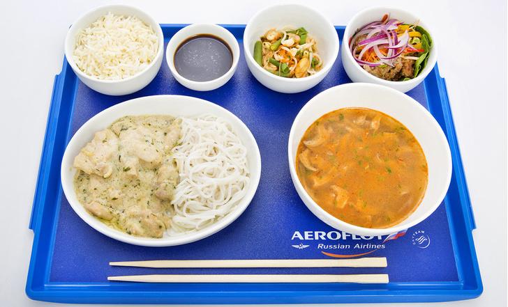 Аэрофлот меню питание