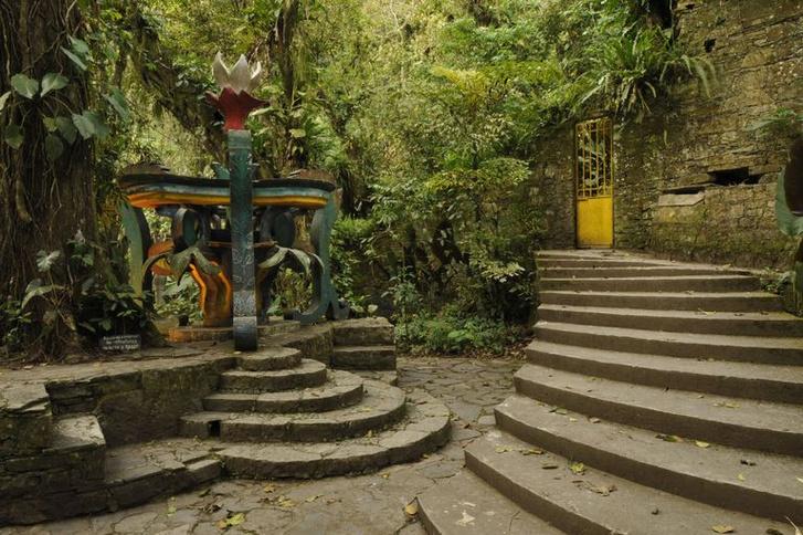 Las Pozas: cюрреалистический парк в мексиканских джунглях (фото 8)