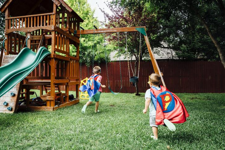 Лучше гаджетов: как организовать игровую зону на даче для детей (фото 12)