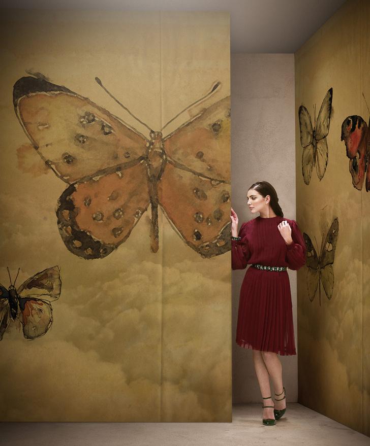 Эффект бабочки. Энтомологические мотивы в интерьере фото [2]