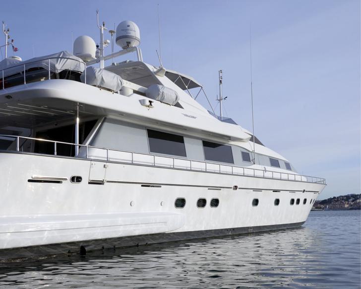 Яхта Bojangles, проект Дианы Балашовой