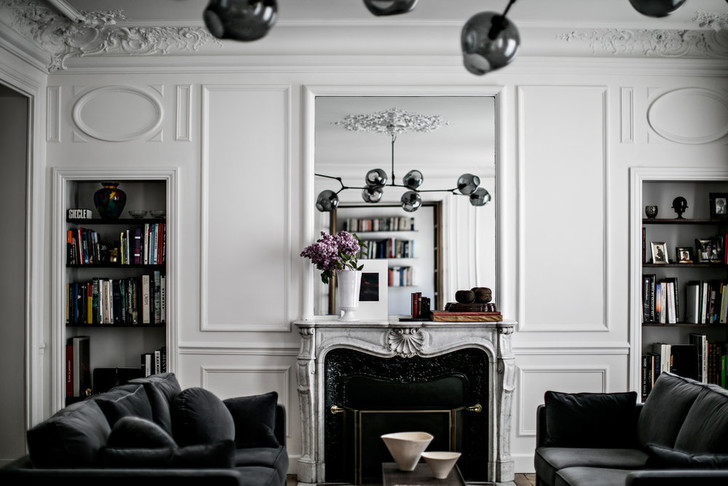 Между прошлым и будущим: квартира в Париже (фото 7)