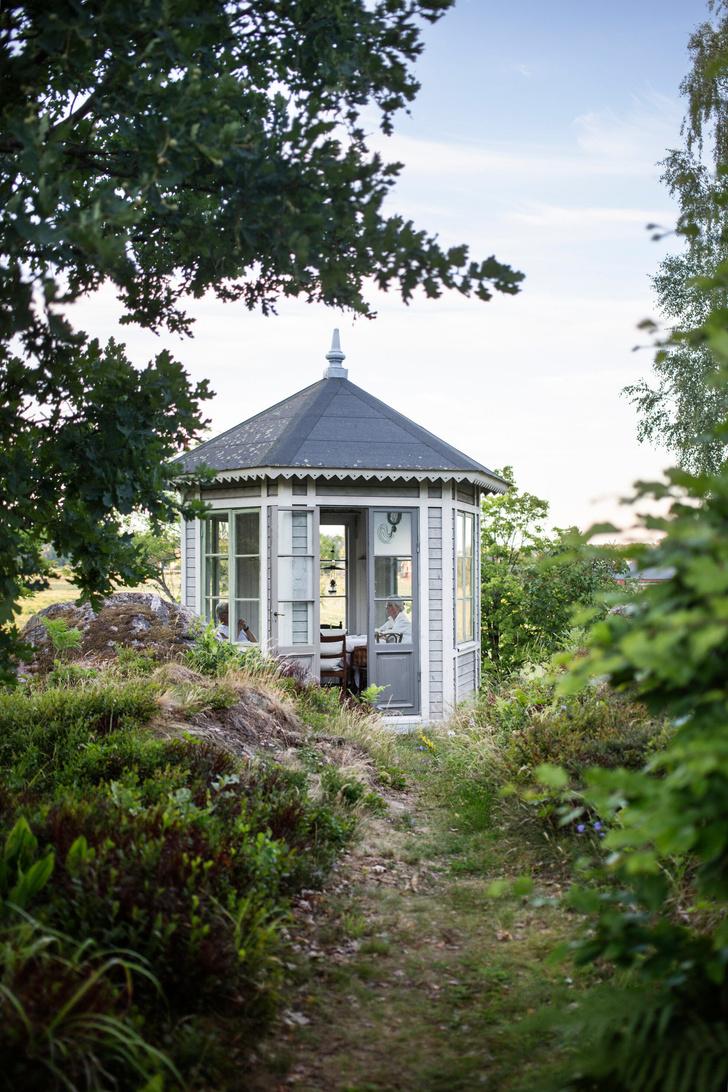 Голубая мечта: дом шведской художницы Гуннель Салин (фото 26)