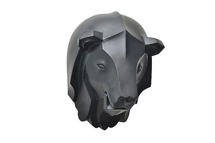 Декоративная голова льва, One Kings Lane