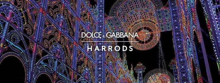Dolce & Gabbana украсили витрины британского Harrods к Рождеству фото [8]