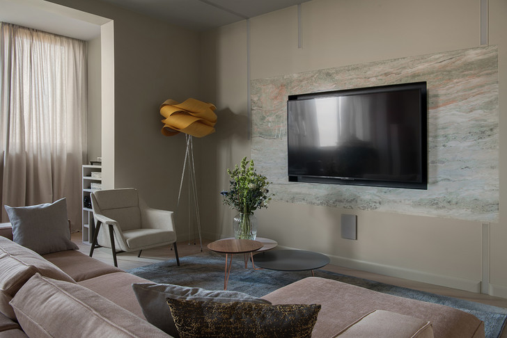 Уютный минимализм: московская квартира 150 м² (фото 3)