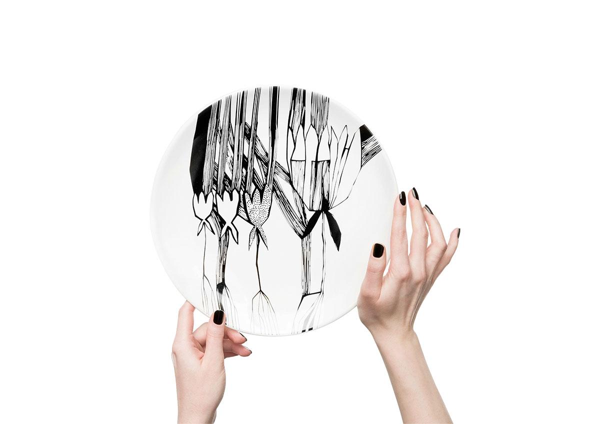 Керамические тарелки от молодого дизайнера Софии Соломко   галерея [1] фото [5]