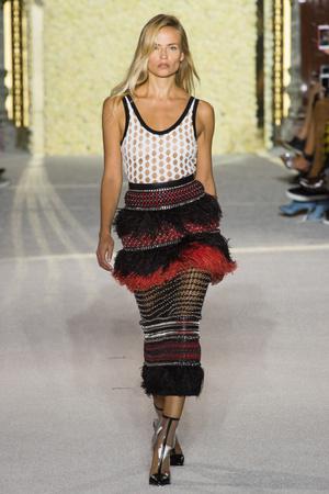 Показы мод Balmain Весна-лето 2018 | Подиум на ELLE - Подиум - фото 5611