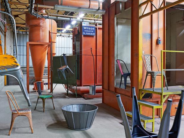 Культовый объект: индустриальный стул Ксавье Пошара (фото 14)