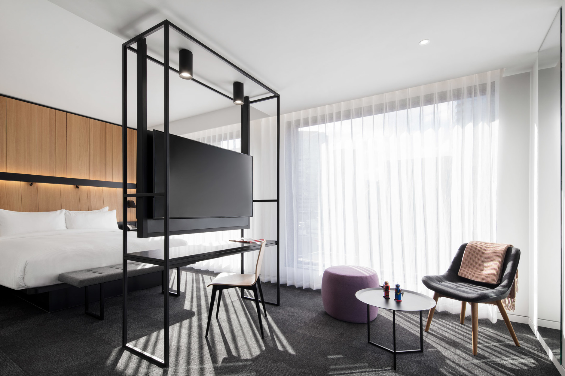 Montreal's Hotel Monville by ACDF Architecture features strict palette (галерея 7, фото 0)
