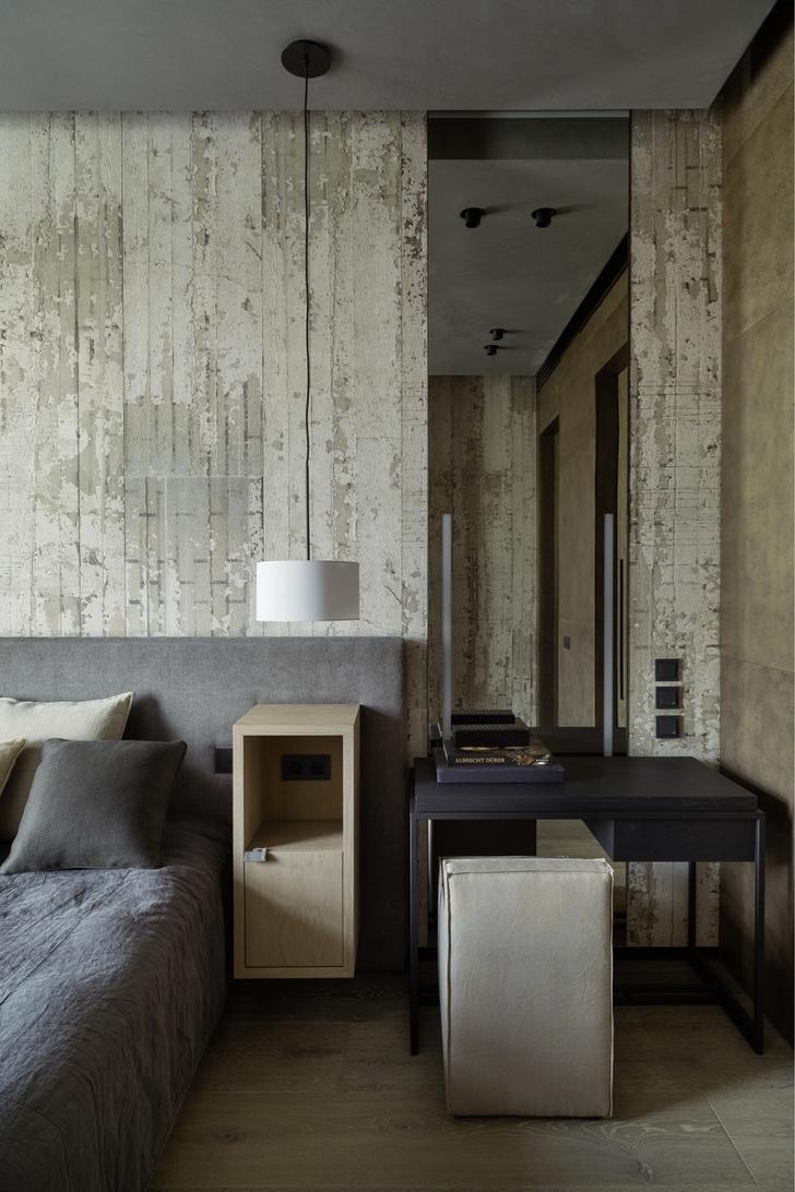 Брутальный интерьер квартиры в Москве (фото 14)