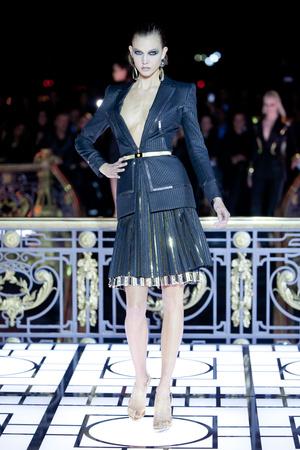 Показ Atelier Versace коллекции сезона Весна-лето 2013 года haute couture - www.elle.ru - Подиум - фото 476986