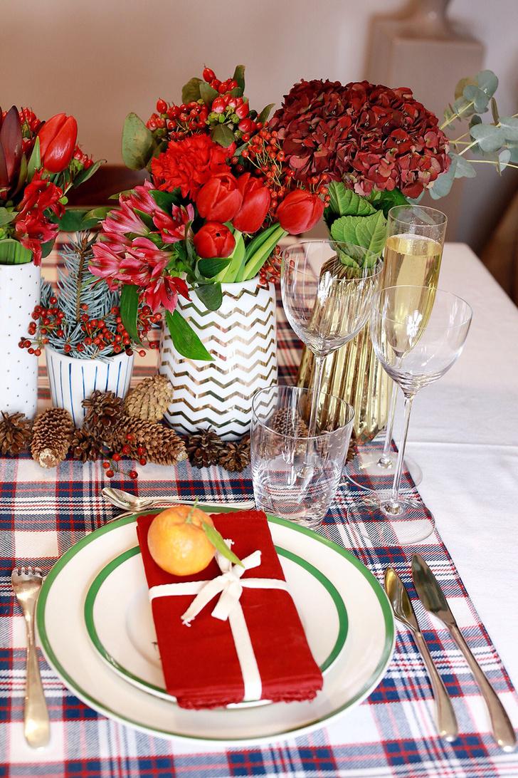 4 варианта новогодней сервировки фото [22]