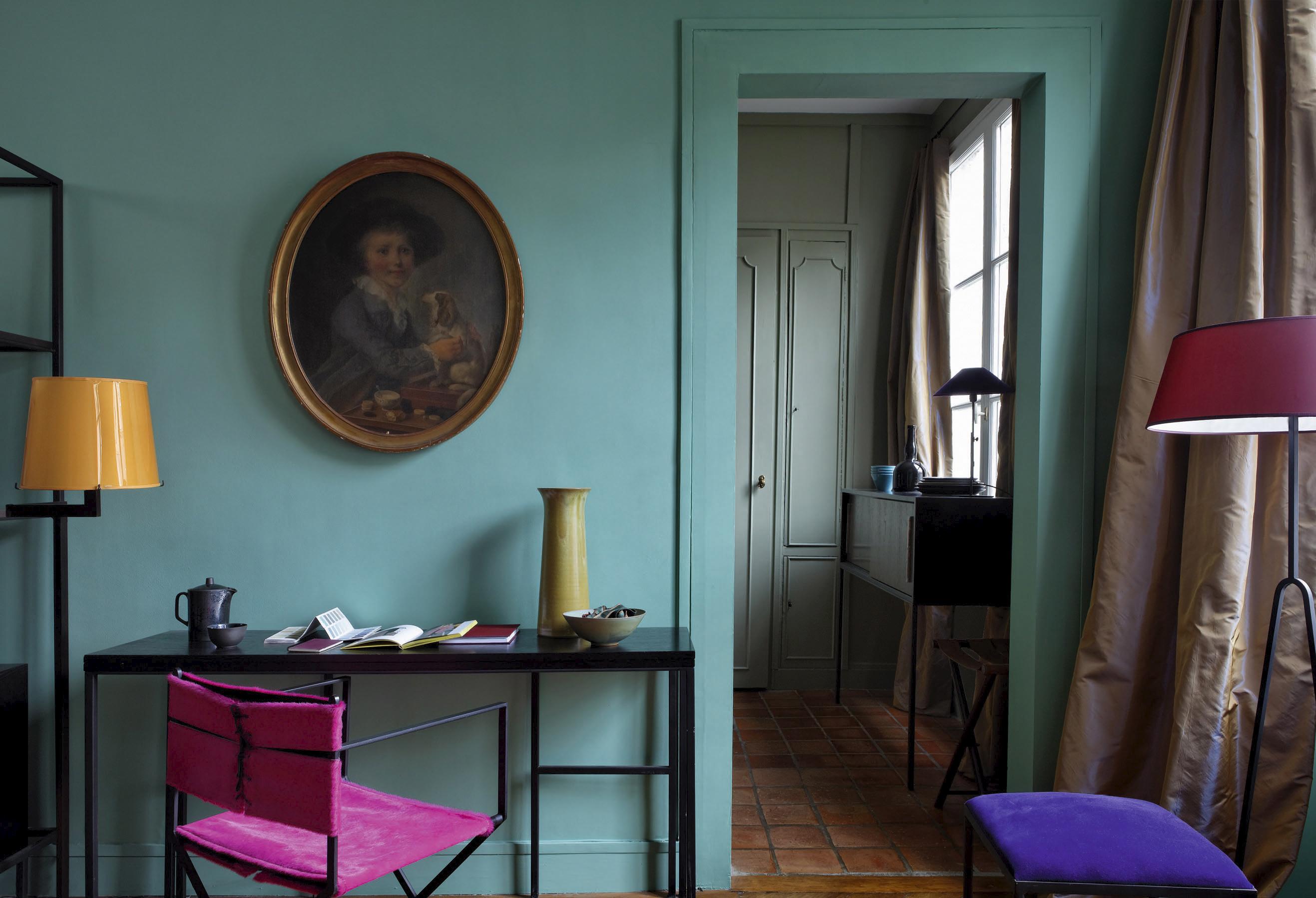 Цвета стен в квартирах студиях