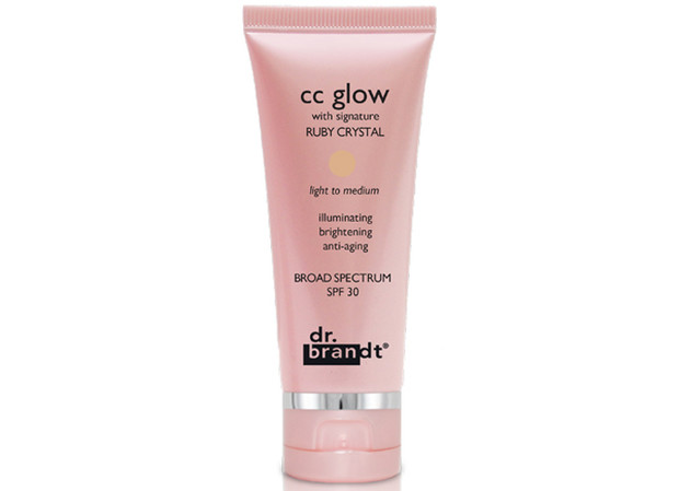 CC glow with signature RUBY CRYSTAL Dr. Brandt Skincare