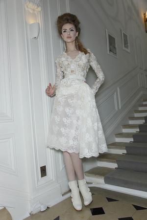 Показы мод Christian Dior Весна-лето 2010 | Подиум на ELLE - Подиум - фото 2897