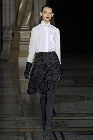 Показы мод Nicole Farhi Осень-зима 2012-2013 | Подиум на ELLE - Подиум - фото 1579