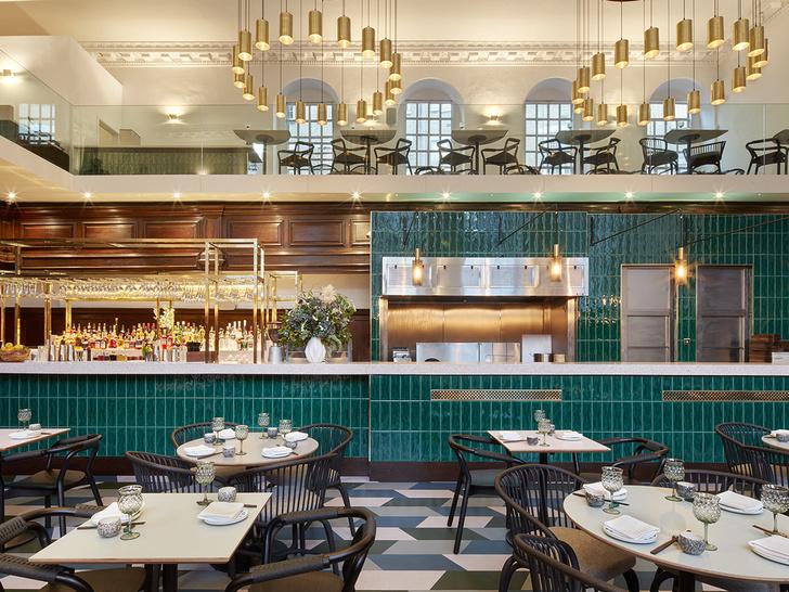 Лондонский ресторан в церкви по проекту Michaelis Boyd (фото 3)