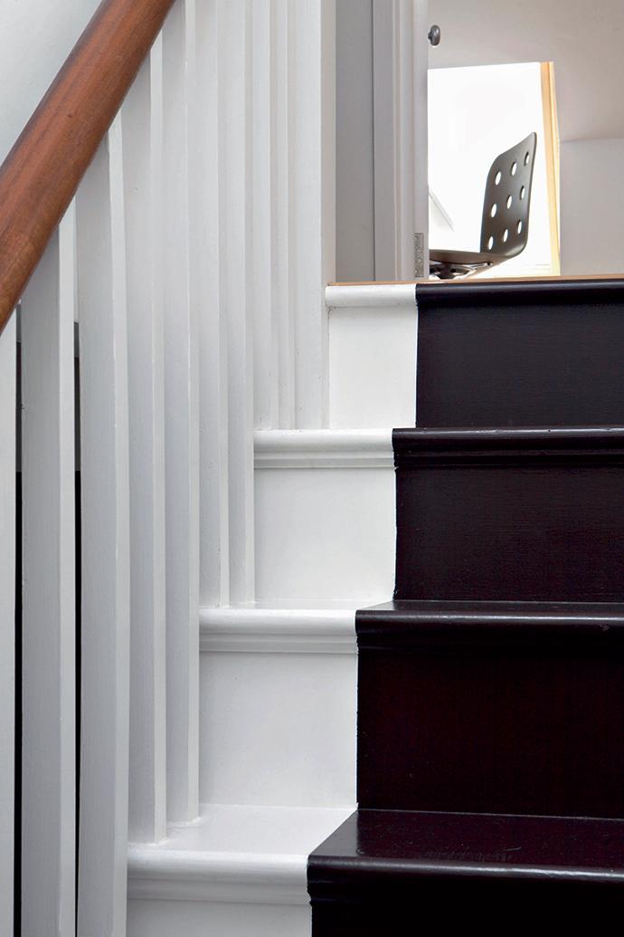 Лестница в лондонском доме, архитектор Брайан О'Туама.