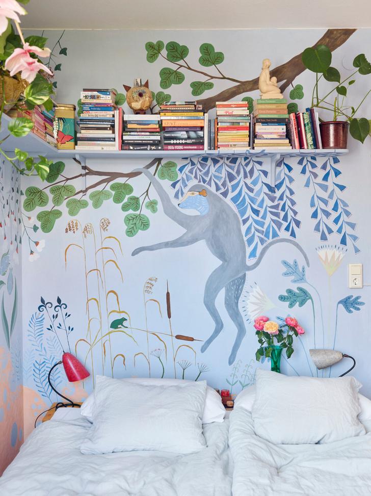 Креативная квартира стилиста и модели Урсулы Венгадер (фото 16)