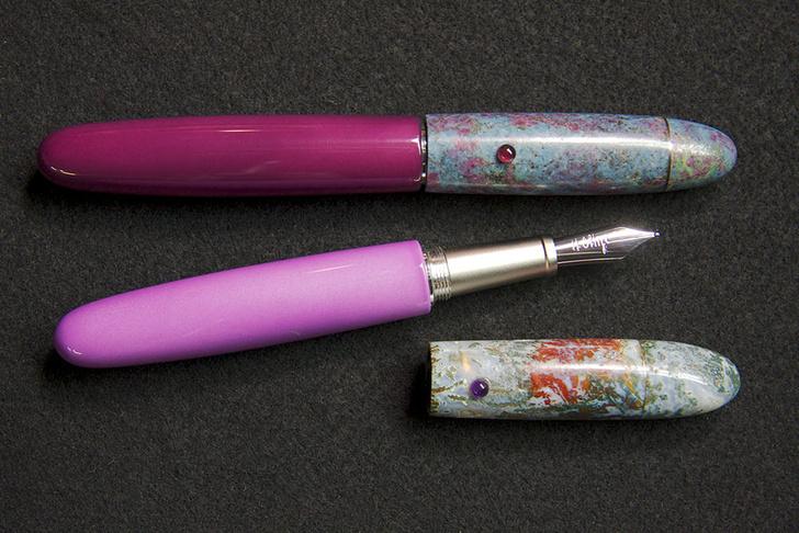 Ручки из богемской яшмы