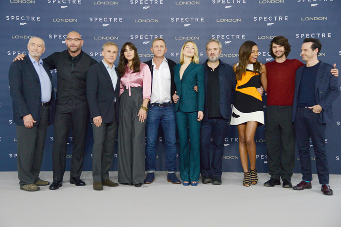 "Съемочная группа фильма ""007: Спектр"""