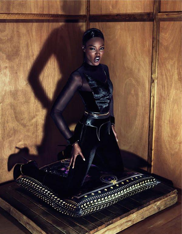 Рекламная кампания Givenchy, 2011