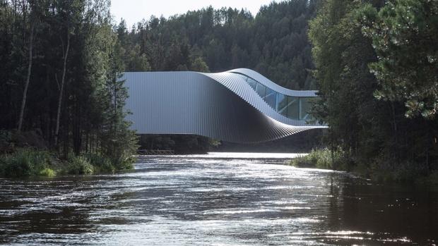 Арт-галерея на мосту по проекту студии BIG (фото 0)