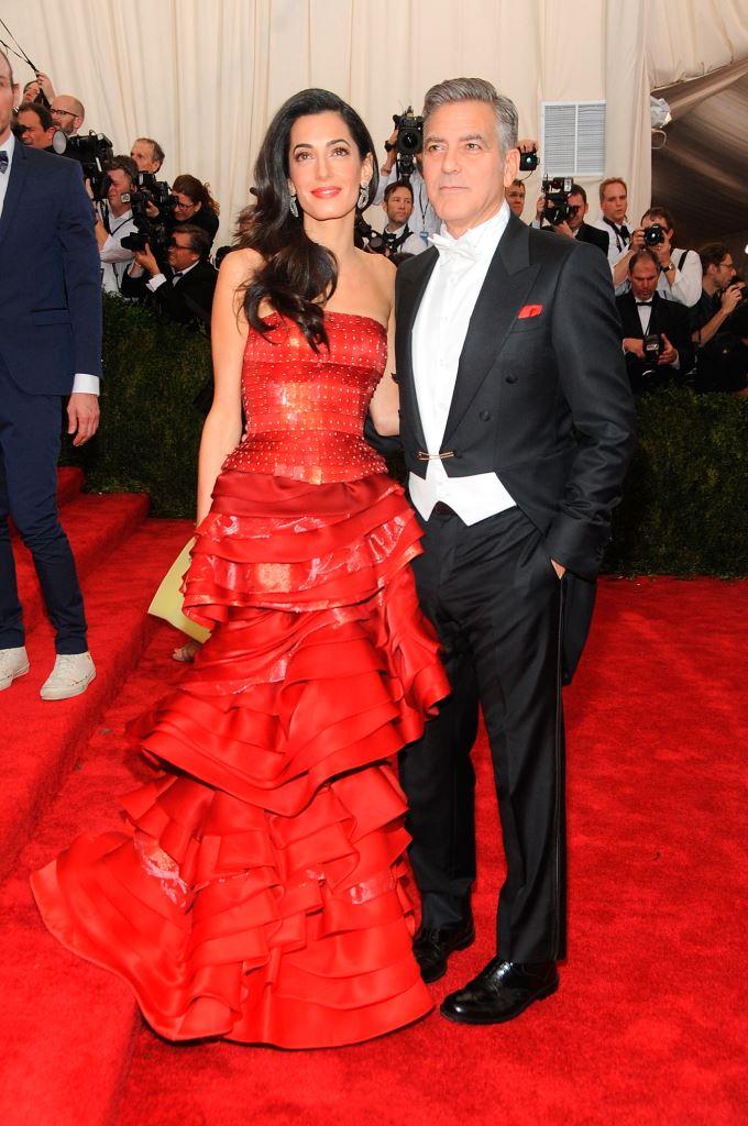 Амаль Клуни в Maison Margiela Couture