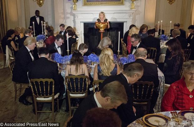 Дональд и Мелания Трамп на ежегодном балу губернаторов (фото 1)