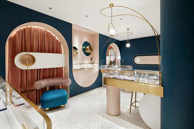 Элегантный ювелирный бутик в Шанхае (фото 2)