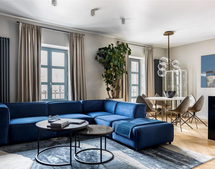 Проект Марины Брагинской: московская квартира 110 м² (фото 0)