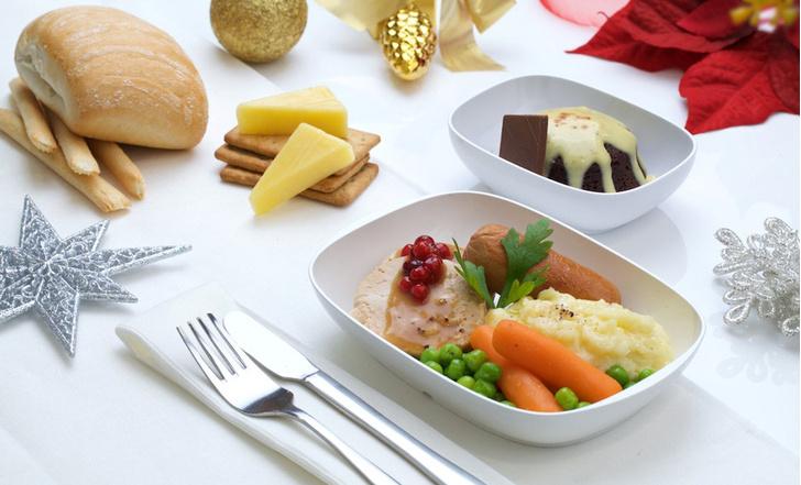 Emirates меню питание