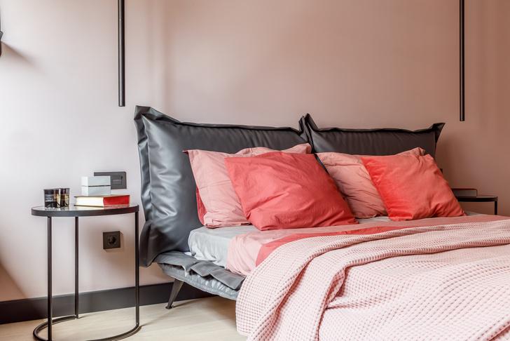 Современная интерпретация стиля «мидсенчури» для двухкомнатной квартиры в Краснодаре (фото 8)