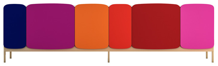Банкетка Legato, дизайн шведского бюро Claesson, Koivisto, Rune для Casamania, 2014 год.