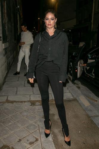 Как носить тотал-блэк? Как Даутцен Крез на вечеринке L'Oréal Paris (фото 3.1)