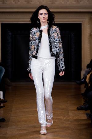 Показ Maurizio Galante коллекции сезона Весна-лето 2013 года haute couture - www.elle.ru - Подиум - фото 477137