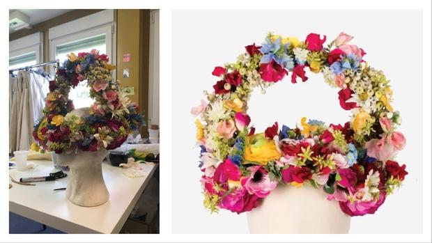 История одного платья: майская королева и 10 тысяч цветов из венгерского льна (фото 5)