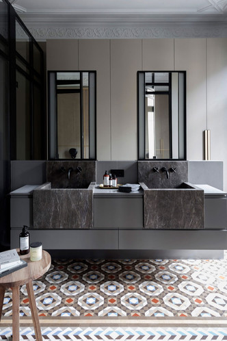 Современная квартира в доме Гауди в Барселоне (фото 11.1)