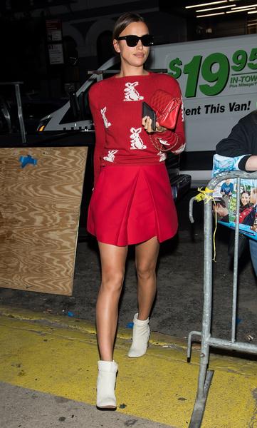 Главные красавицы Недели моды в Нью-Йорке | галерея [1] фото [3]