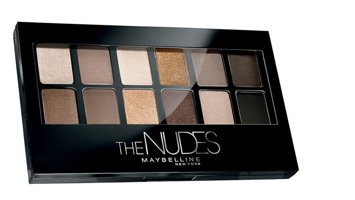 Maybelline Shadow Palette The Nudes