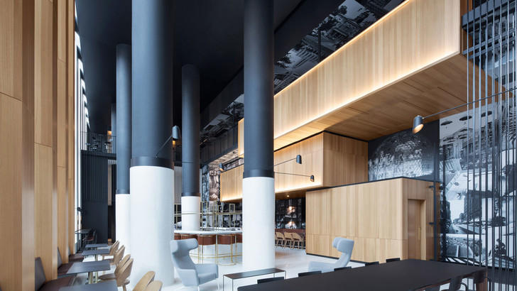 Montreal's Hotel Monville by ACDF Architecture features strict palette (фото 0)