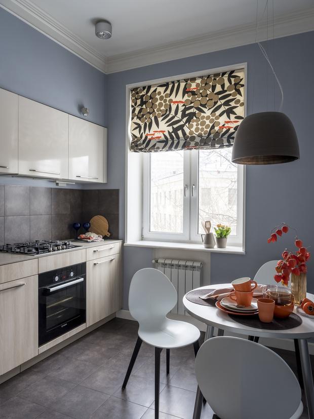 Маленькая кухня-столовая: 12 практичных советов (фото 28)