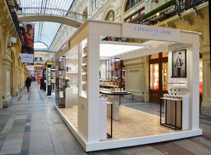 Пространство Maison Christian Dior в московском ГУМе (фото 0)